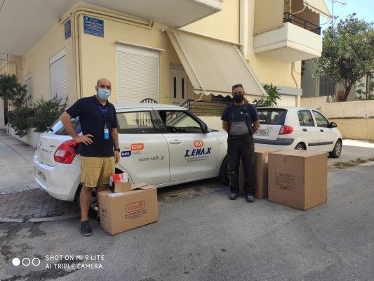 Δωρεές συνεταιρισμού εργοληπτών ηλεκτρολόγων Χανίων